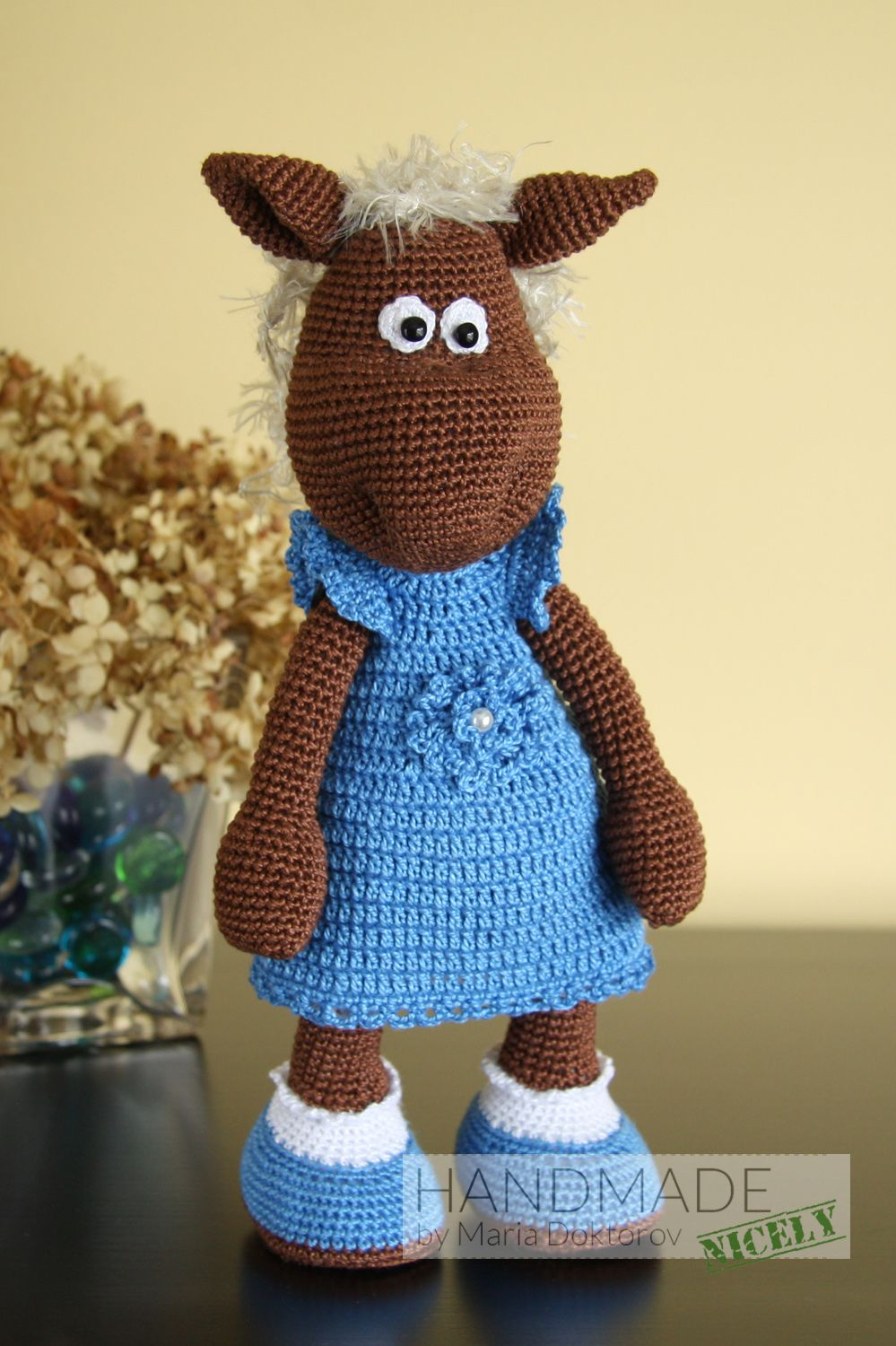 lola the horse  u2013 crochet toy