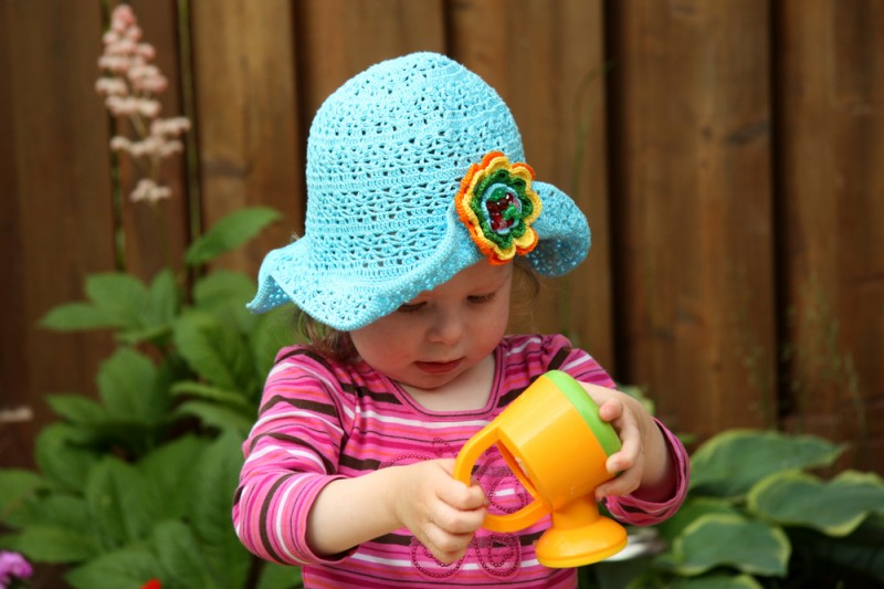 Toddler Summer Hat Crochet Pattern